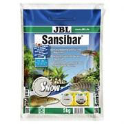 JBL Sansibar Snow WHITE - Декоративный грунт для аквариума, снежно-белый, мелкий, 5 кг.