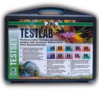 JBL Testlab - Водонепроницаемый пластиковый чемодан, содержащий набор из 13 тестов для всестороннего анализа качества пресной воды