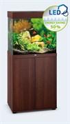 Juwel LIDO 120 LED аквариум 120л темное дерево (Dark Wood) 61х41х58см 2х12W Фильтр Bioflow M, нагреватель 100 Вт
