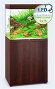 Juwel LIDO 200 LED аквариум 200л темное дерево (Dark Wood) 71х51х65см 2х14W Фильтр Bioflow M, нагреватель 200 Вт