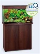 Juwel RIO 125 LED аквариум 125л темное дерево (Dark Wood) 81х36х50см 2х14W Фильтр Bioflow М, нагреватель 100 Вт