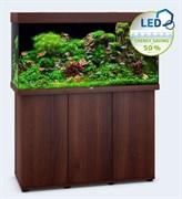 Juwel RIO 350 LED аквариум 350л темное дерево (dark wood) 121х51х66см 2х29W Фильтр Bioflow L, нагреватель 300 Вт