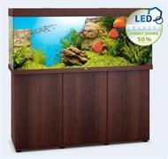 Juwel RIO 450 LED аквариум 450л темное дерево (dark wood) 151х51х66см 2х31W Фильтр Bioflow XL, нагреватель 300 Вт