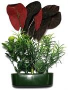 Karlie искусственное растение нимфея 15 см