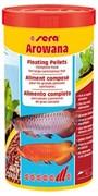 sera Arowana 1л - специальный плавающий корм в палочках для арован