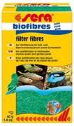 sera Biofilterfaser fine 40 г - волокнистый наполнитель для био-механичесткой очистки воды