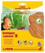 sera Catappa Leaves S 14 см (10 шт) - листья индийского миндаля