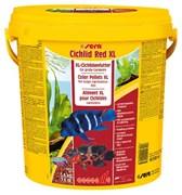 sera Cichlid Red XL 10 л - гранулы для крупных плотоядных цихлид