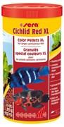 sera Cichlid Red XL 1000 мл - гранулы для крупных плотоядных цихлид