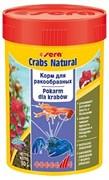 sera Crabs natural 100 мл - корм для креветок, раков и крабов в колечках