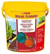 sera Discus granules 10 л - корм для дискусов (гранулы)