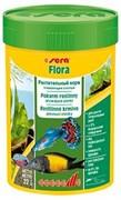 sera Flora 100 мл - корм для травоядных рыб (хлопья)