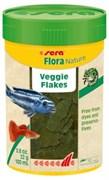 sera Flora Nature 100 мл (22 г) - корм для рыб в хлопьях