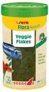 sera Flora Nature 250 мл (60 г) - корм для рыб в хлопьях