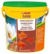 sera Goldy 10 л - корм для золотых рыбок (хлопья)