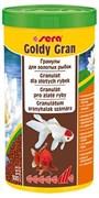 sera Goldy gran 1 л - гранулированный корм для золотых рыбок