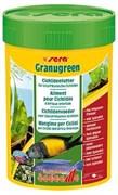 sera Granugreen 100 мл - корм для травоядных цихлид (гранулы)