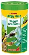 sera Guppy gran 250 мл - специальный корм для гуппи (гранулы)
