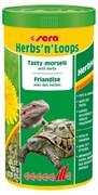 sera Herbs'n'Loops (травы и колечки) 1000 мл - деликатесный корм для травоядных рептилий