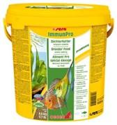 sera Immun Pro 10 л (ведро) - основной корм для выращивания рыбы и укрепления иммунитета (гранулы)