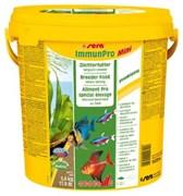 sera Immun Pro mini 10 л (ведро) - основной корм для выращивания рыбы и укрепления иммунитета (гранулы)
