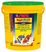 sera KOI Color large 20 л (гранулы - 6 мм) - корм для улучшения окраски карпов Кои