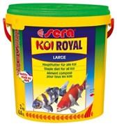 sera KOI Royal large 10 л (гранулы - 6 мм) - корм для крупных карпов Кои