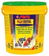 sera KOI Royal large 21 л (гранулы - 6 мм) - корм для крупных карпов Кои