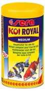 sera KOI Royal medium 1 л (гранулы - 4 мм) - корм для средних карпов Кои