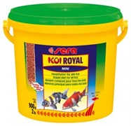 sera KOI Royal mini 3,8 л (гранулы - 2 мм) - корм для молодых карпов Кои