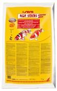 sera KOI Sticks Energy plus 40 л (5 кг) - богатый энергией корм для кои и других прудовых рыб с зародышами пшеницы
