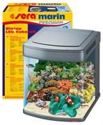 sera Marine Biotop Cube 130 LED - морской аквариум с комплектом оборудования и LED-освещением