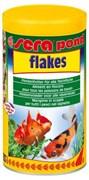 sera pond (Bio) flakes 1 л (хлопья) - корм для всех видов прудовых рыб