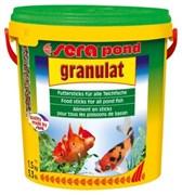 sera pond (Bio)granulat 10 л (палочки) - корм для прудовых рыб