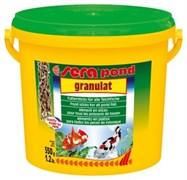 sera pond (Bio)granulat 3,8 л (палочки) - корм для прудовых рыб