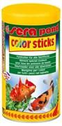 sera pond Color Sticks 1л - корм для улучшения окраски прудовых рыб