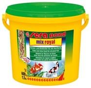 sera pond Mix Royal 3.8 л - корм для всех видов прудовых рыб