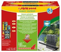 sera Super Carbon 2 кг - активированный уголь для аквариумных фильтров и прудов