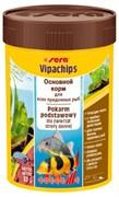 sera Vipachips 100 мл - корм для всеядных донных рыб