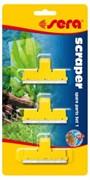 sera сменные насадки для стеклоочистителя-скребка sera XL и XXL (набор 1, 3 шт.)