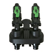 Tetra - адаптер для шлангов для фильтров Tetra EX - 1200 в комплекте с кранами