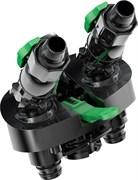 Tetra - адаптер для шлангов для фильтров Tetra EX-1200 plus в комплекте с кранами