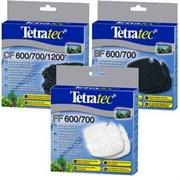 Tetra - набор расходных материалов для фильтров Tetra EX-400, 600 , 700. 600plus. 800plus (запасной, на 1-2 года)