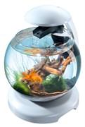 Tetra Cascade Globe 6,8 л (белый) - круглый аквариум с фильтром
