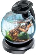 Tetra Cascade Globe Duo Waterfall (черный) 6,8л круглый аквариум с LED светильником