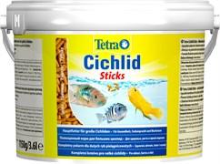 Tetra Cichlid Sticks 3,6 л (ведро) - основной корм для цихлид (палочки)