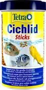 Tetra Cichlid Sticks 500 мл - основной корм для цихлид (палочки)