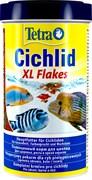 Tetra Cichlid XL Flakes 500 мл - основной корм для цихлид (хлопья)