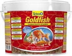 Tetra Goldfish Food 10л (ведро) - корм для золотых рыбок (хлопья)