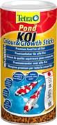 Tetra Koi Sticks Colour Growth энергетический корм для кои в гранулах 1 л
